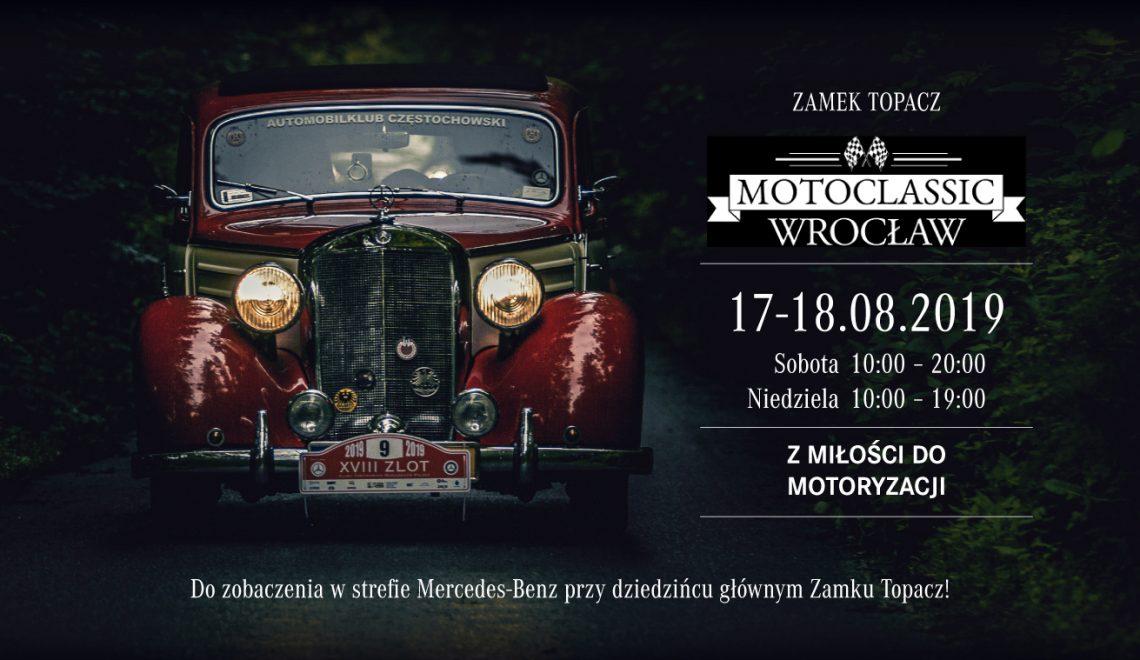 Gdy przeszłość spotyka przyszłość – Grupa Wróbel na MotoClassic Wrocław 2019
