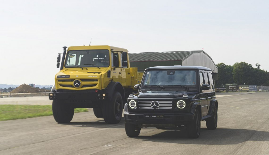 Terenowe ikony Mercedes-Benz