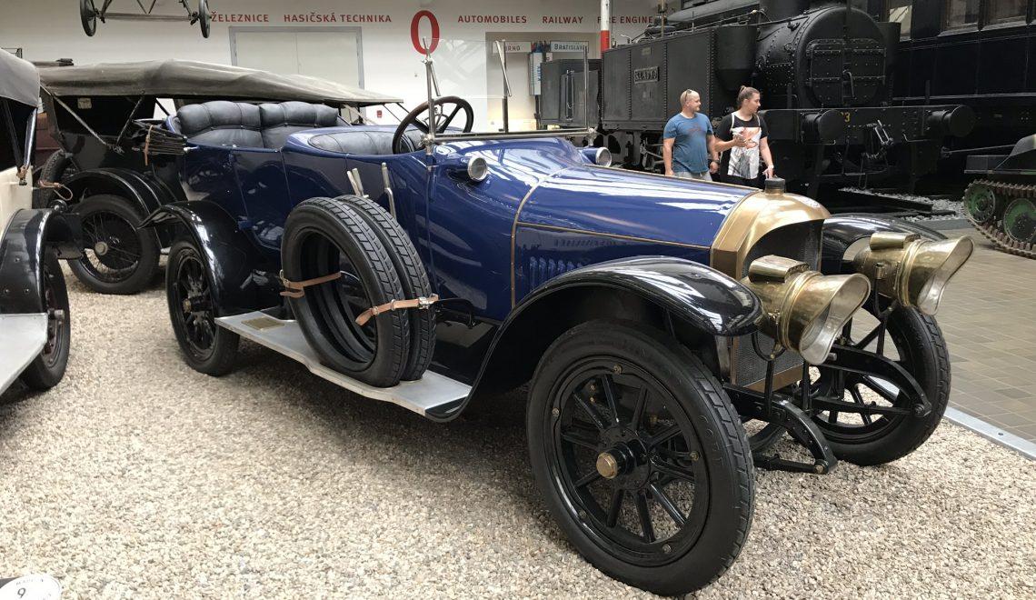 Benz 16/40 HP, 1914, od Karela Schwarzenberga V