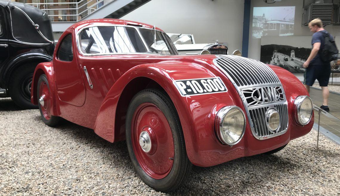 Racing car: Jawa 750, 1935