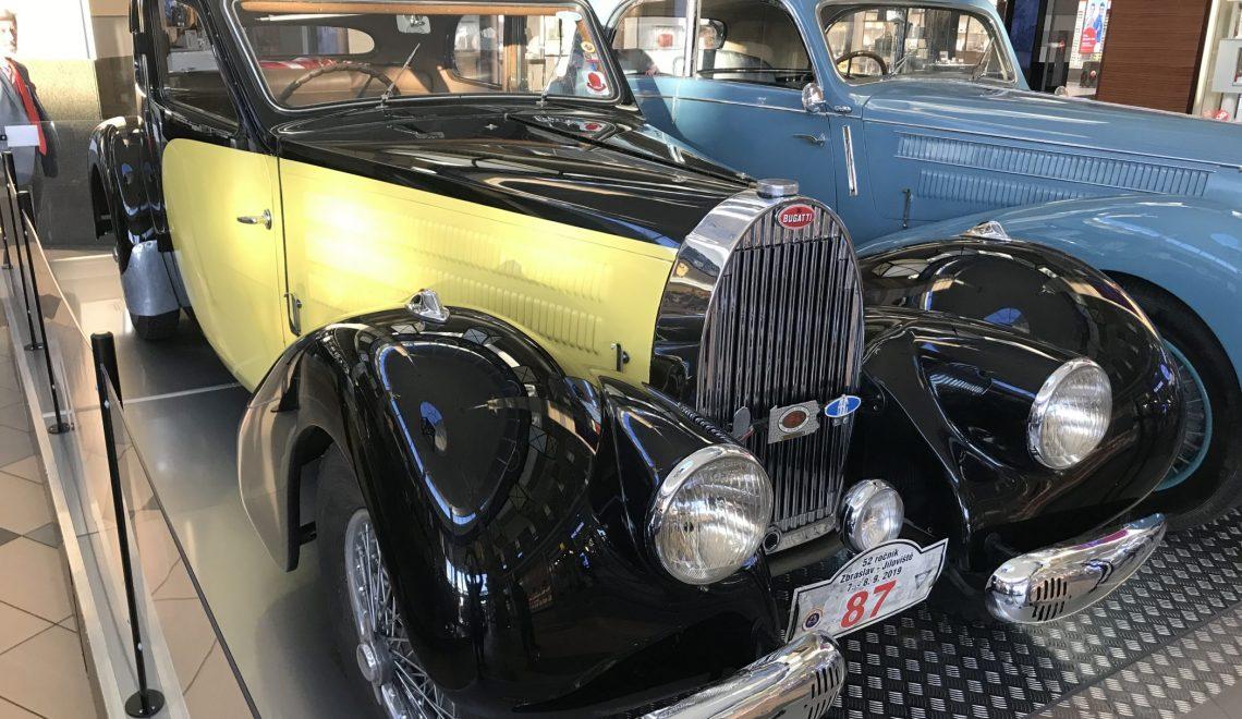 Eleganckie podróżowanie: Bugatti T57 A Ventoux