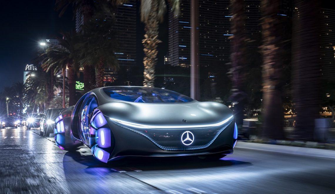 Mercedes-Benz VISION AVTR – inspirowany naturą