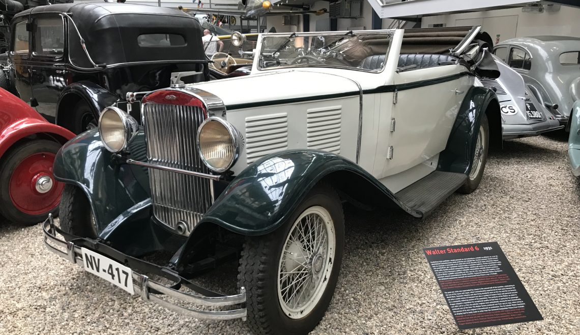 Walter Standard 6, 1931