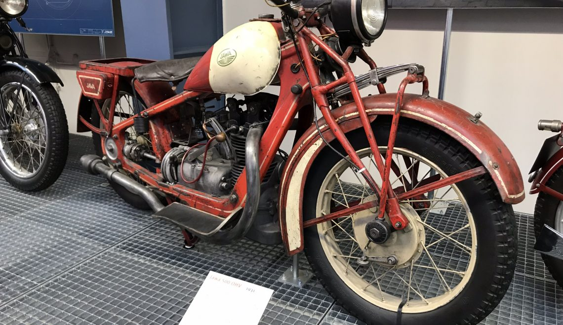 Tylko 1016 sztuk: Jawa 500 OHV, 1931