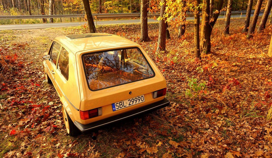 VW Golf I po modyfikacjach