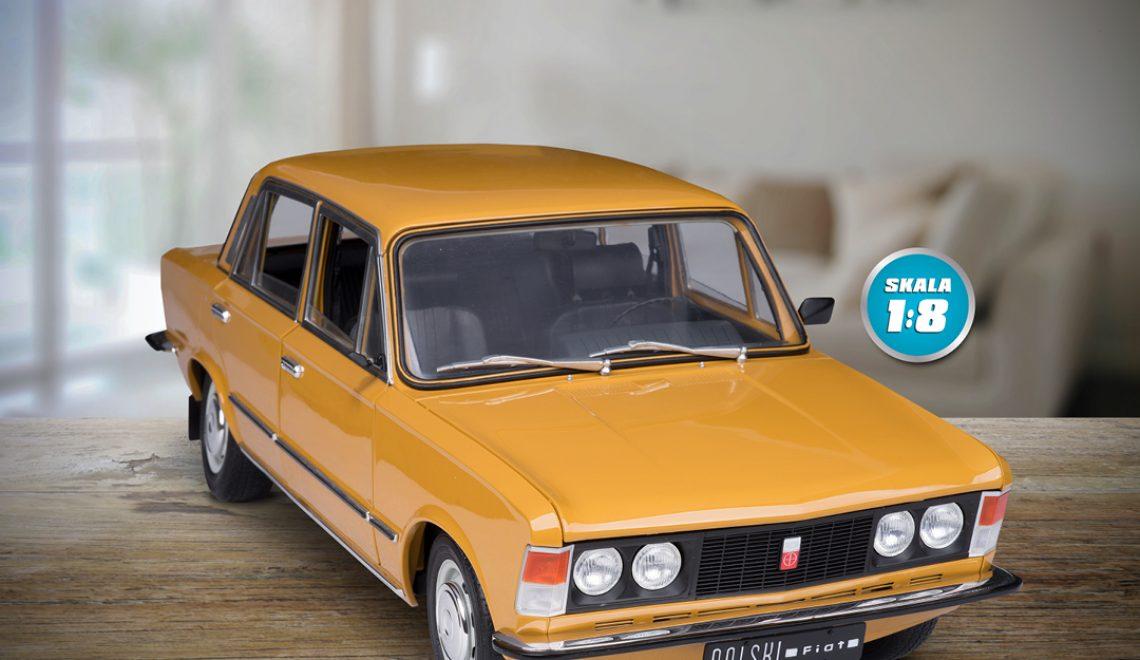 Zbuduj wierną replikę Polskiego Fiata 125 p!