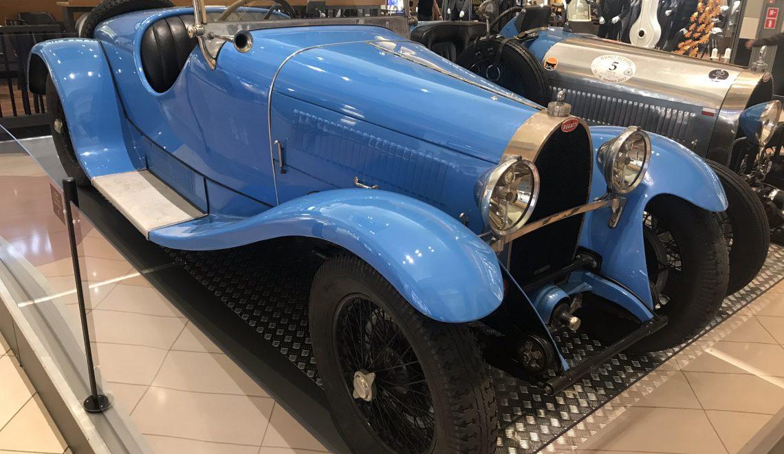 Szykownie, urzekająco, drogo: Bugatti T44 roadster