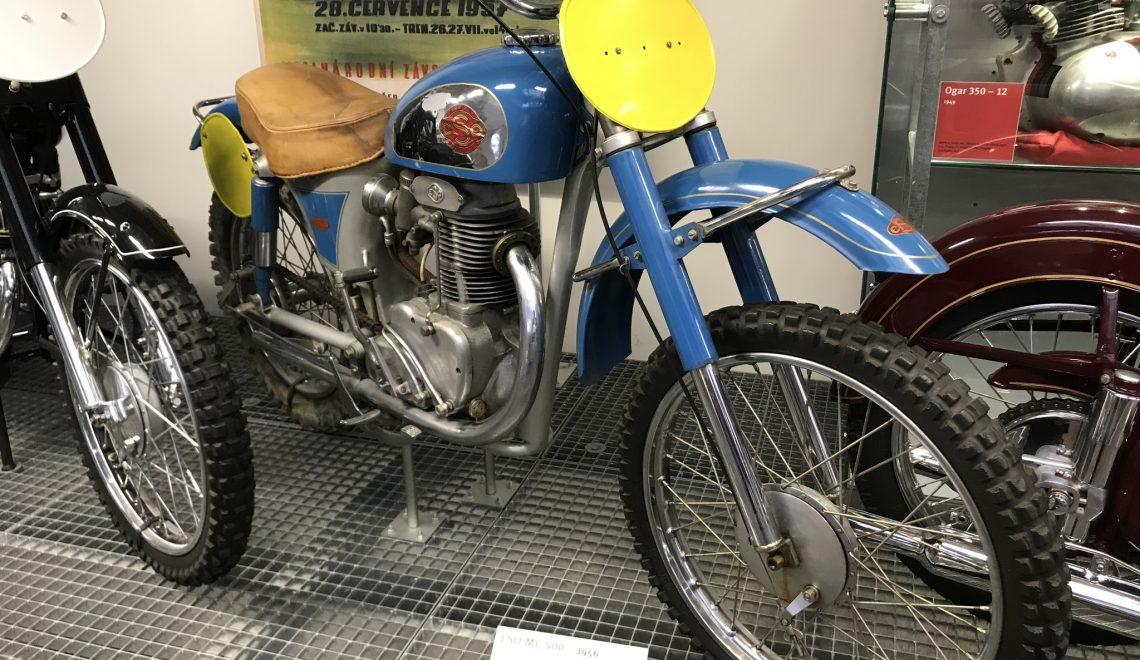 Motocross: ESO MC 500, 1956