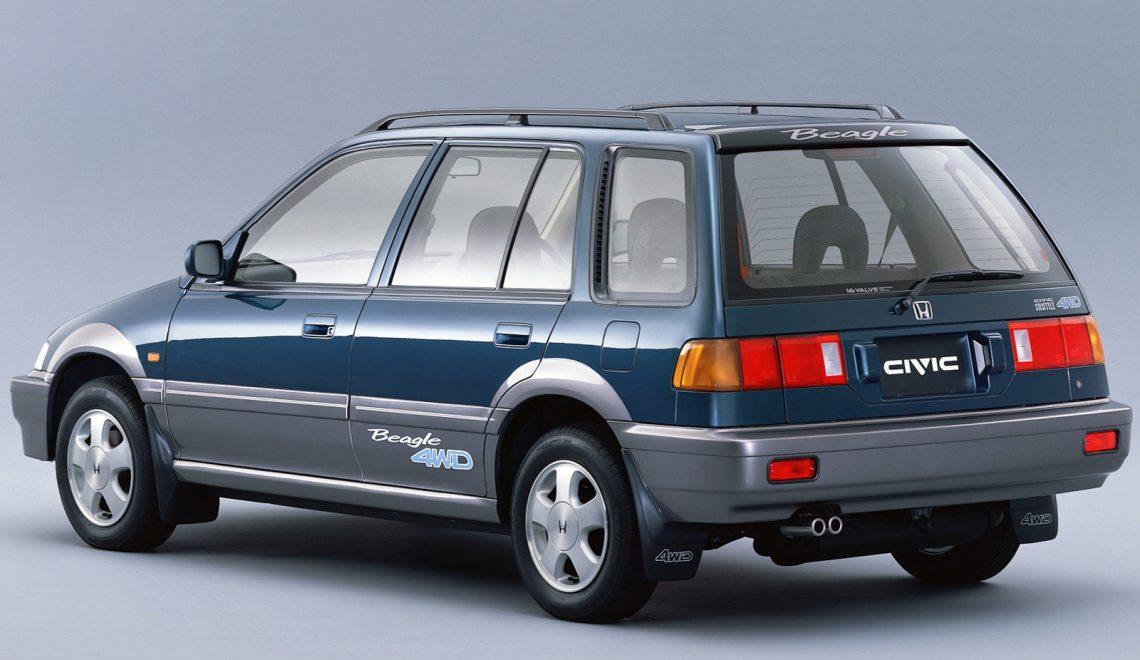 Honda Civic Wagon – kwadratowa rewolucja