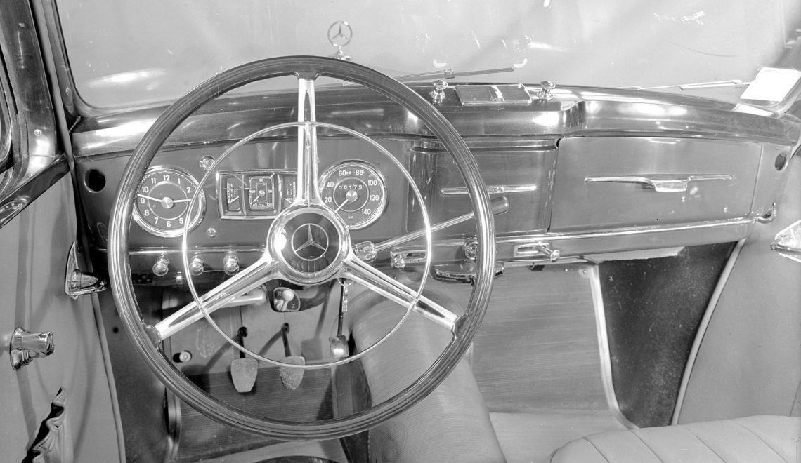 120 lat rozwoju kierownic w Mercedes-Benz