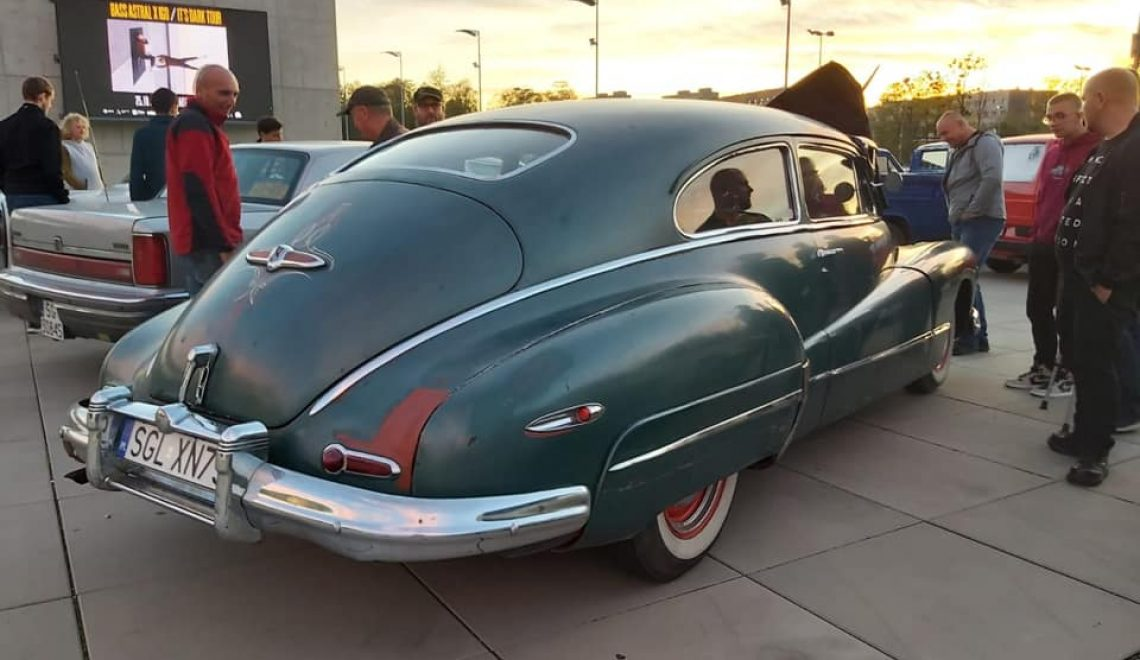 Klasyk Czerwca 2020: Buick Super 50 Senad Et, 1947