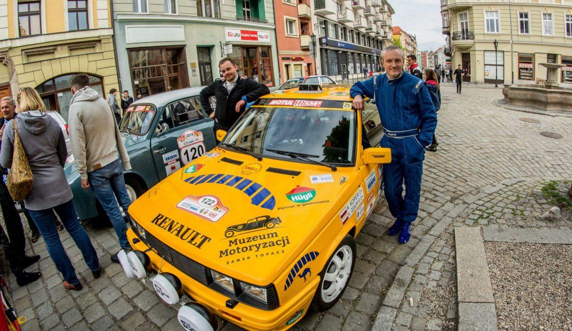 Renault 11 Turbo na trasach Motul HRSMP