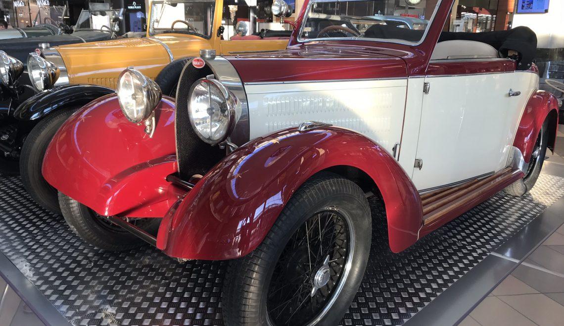 Arystokrata: Bugatti T40S Gangloff, 1929