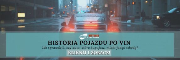 Historia pojazdu po VIN.