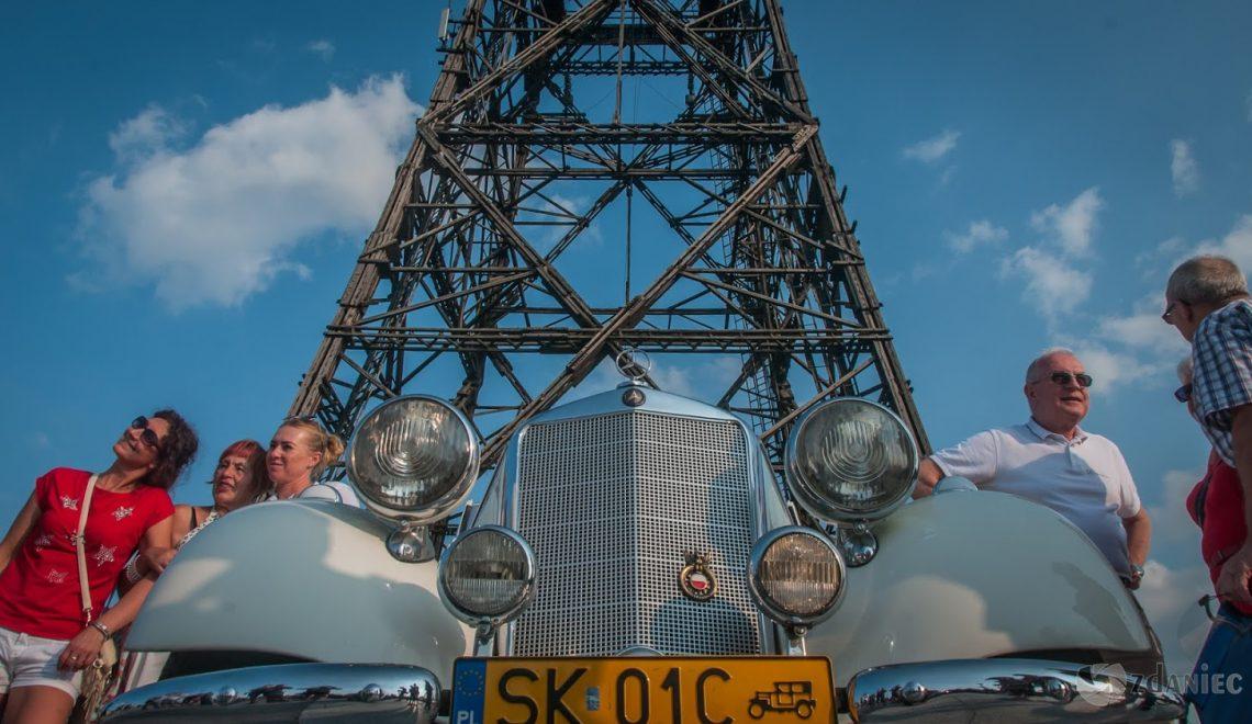 Mercedesy przy gliwickiej Radiostacji