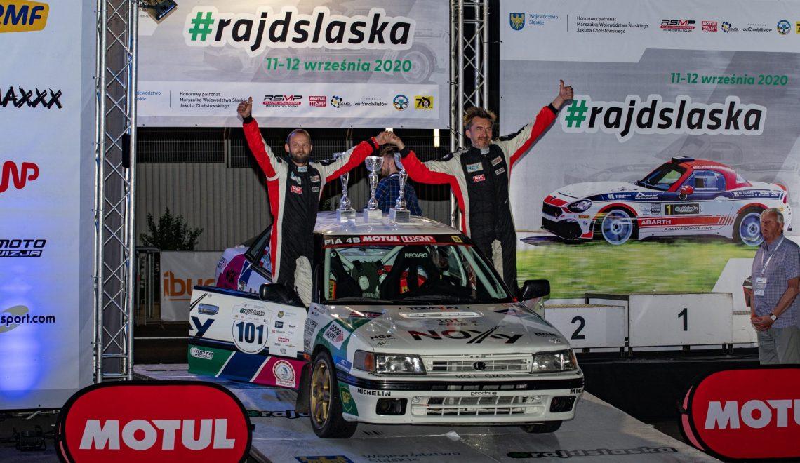 Luty i Kiepura na bis w Rajdzie Śląska