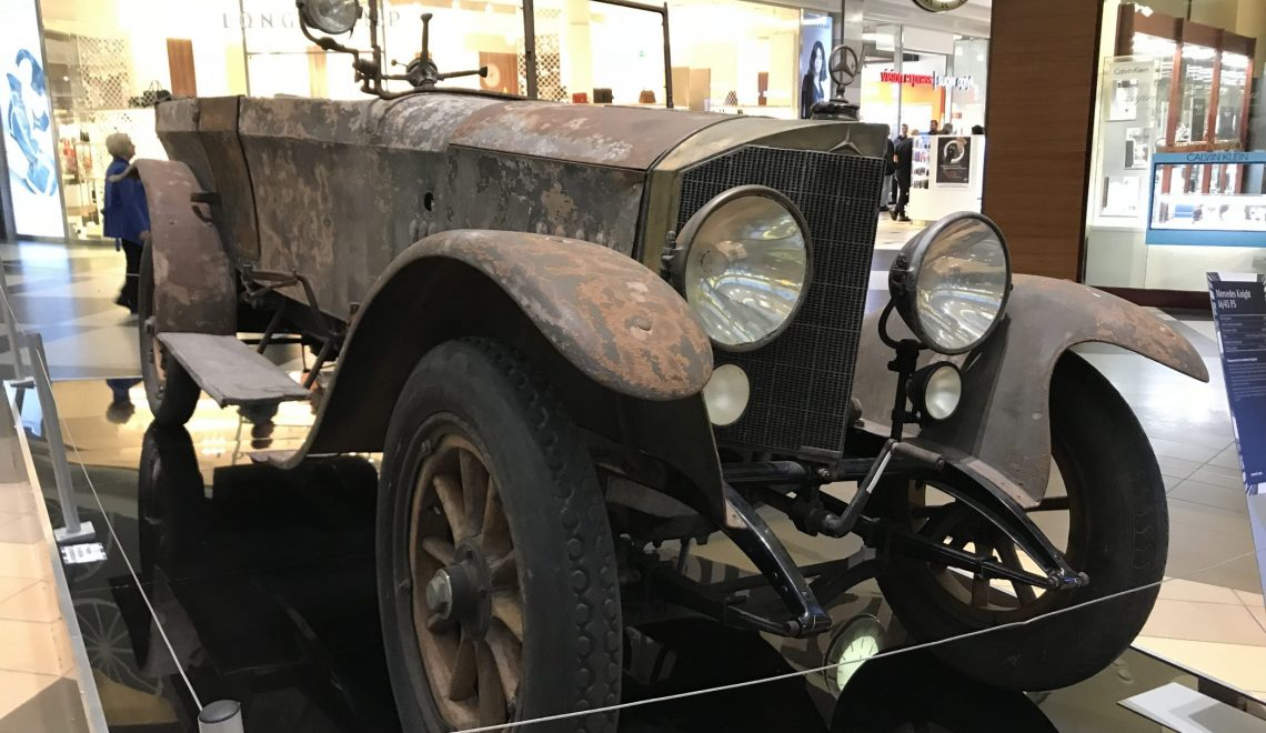Dla najbardziej godnych zaufania: Mercedes Knight 16/45 PS, 1918