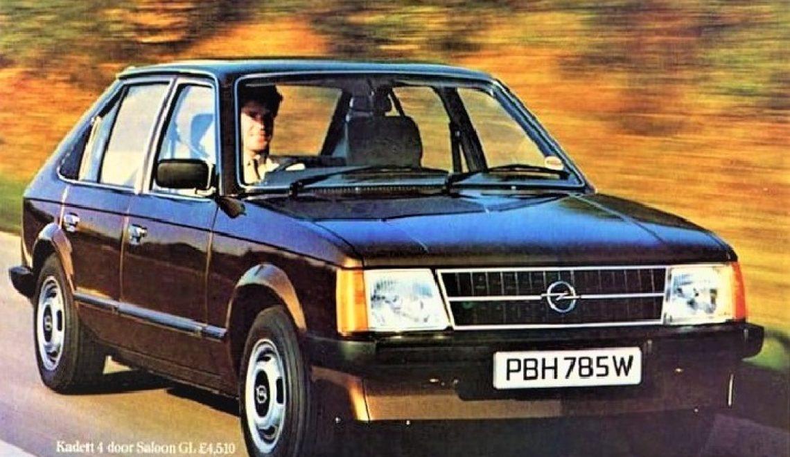 Opel Kadett D – protoplasta Astry