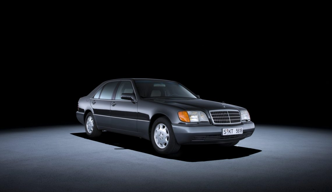 Od 2021 r. Mercedes-Benz Klasy S z serii 140 kwalifikuje się do rejestracji jako samochód zabytkowy
