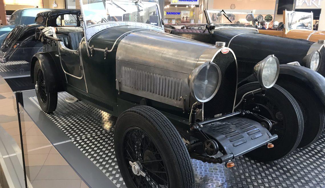 Przez Saharę: Bugatti T40 Sport Tourer