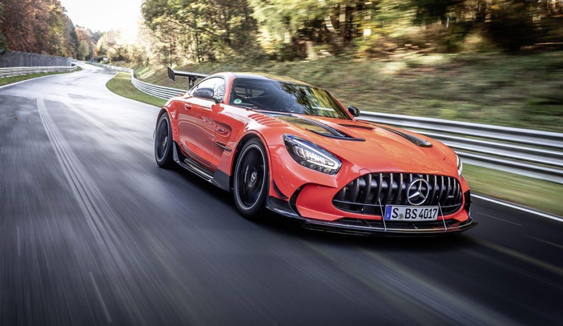 Mercedes-AMG GT Black Series najszybszym seryjnym samochodem na północnej pętli toru Nürburgring