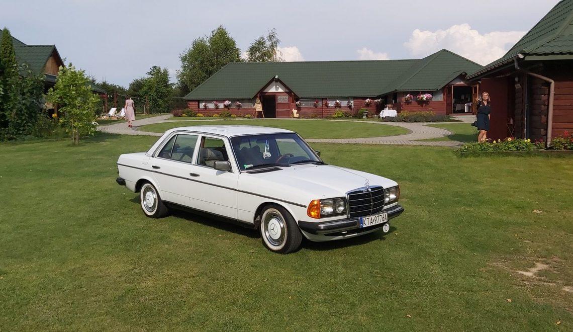 Czy to najstarszy Mercedes-Benz W123 w Polsce?