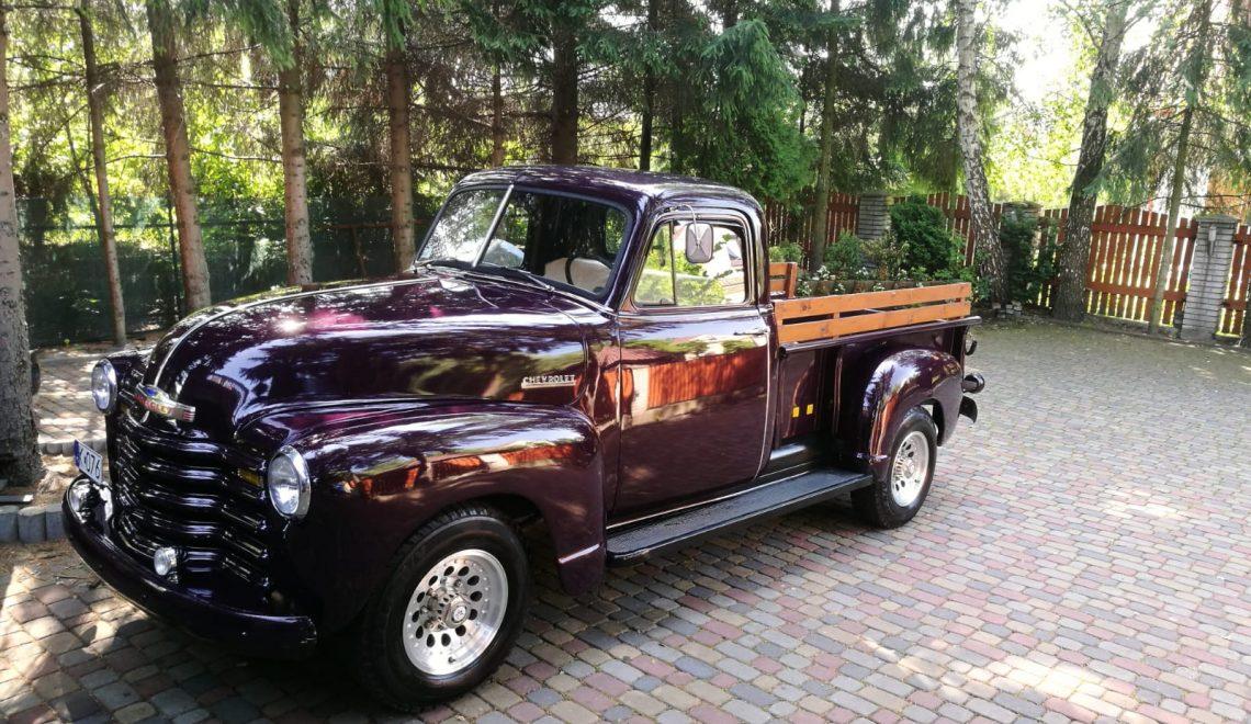 Chevrolet 3100 pickup, 1952