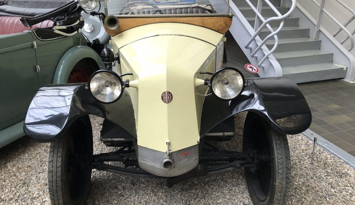 Kiedyś tak się przemieszczano: Tatra 11, 1925