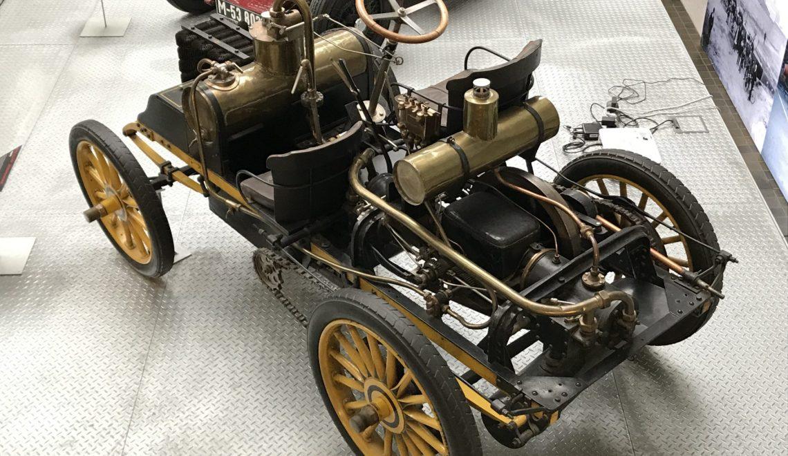 """Wyścigowy automobil barona Theodora von Liebiga: NW 12 HP """"Rennzweier"""", 1900"""