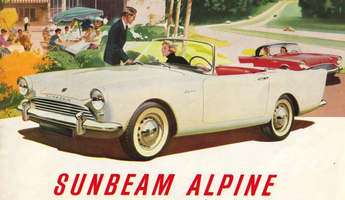 Sunbeam Alpine – zapomniany pojazd Jamesa Bonda