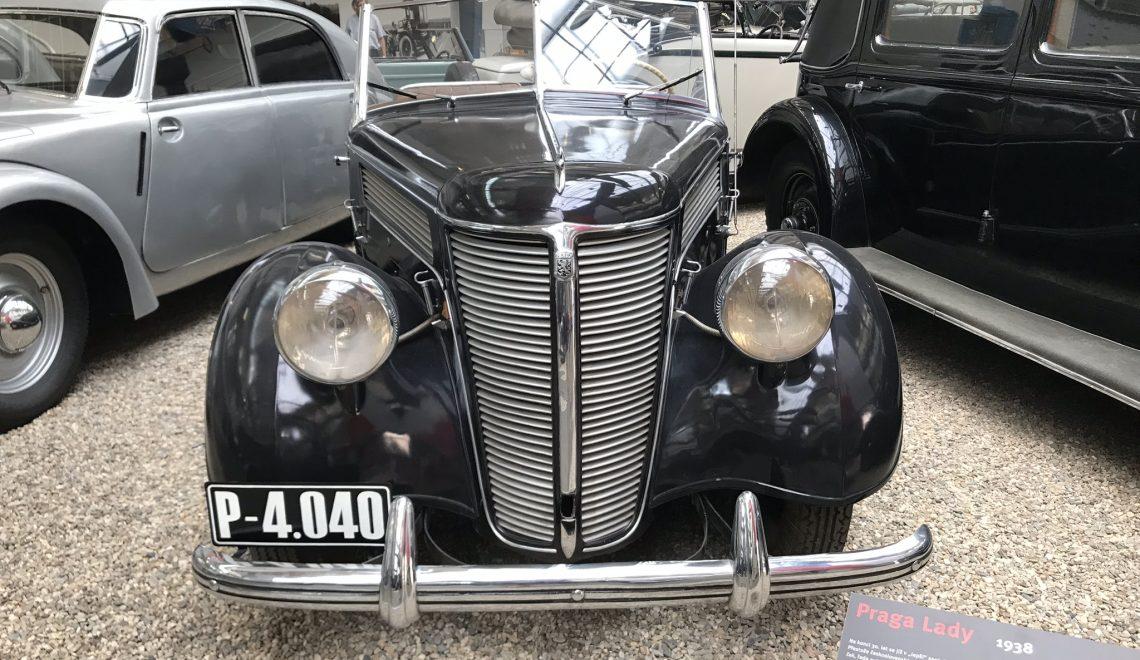 Praga Lady, 1938
