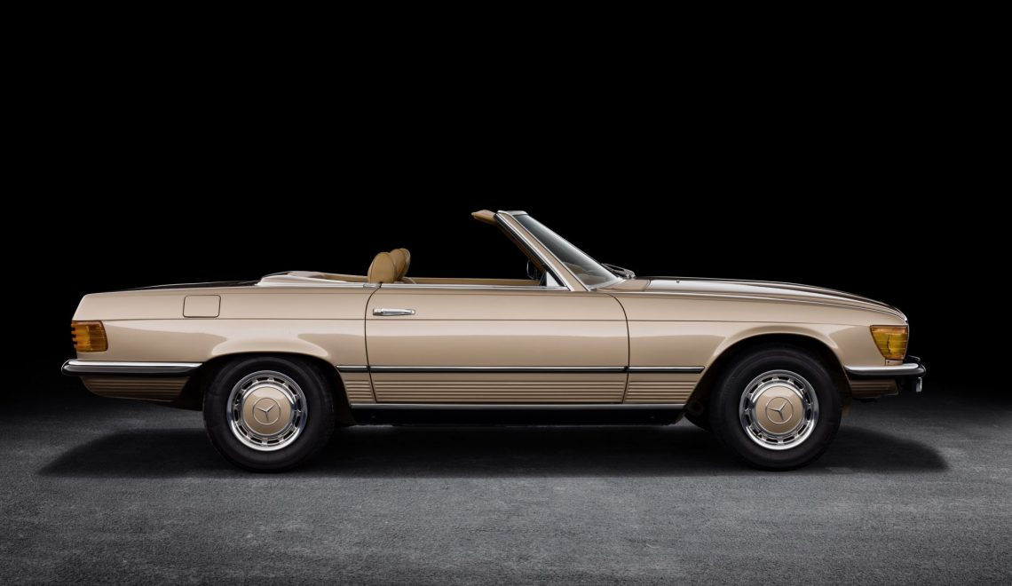 Kultowy Mercedes-Benz SL – historia wszystkich modeli