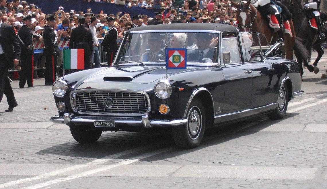 Lancia Flaminia 335 Presidenziale – dla włoskiego prezydenta