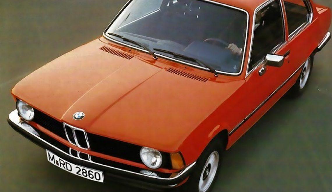 BMW Serii 3 E21 – początek nowej epoki