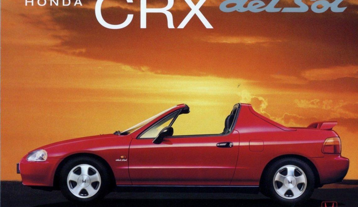 Honda CR-X Del Sol – Civic w sportowej szacie