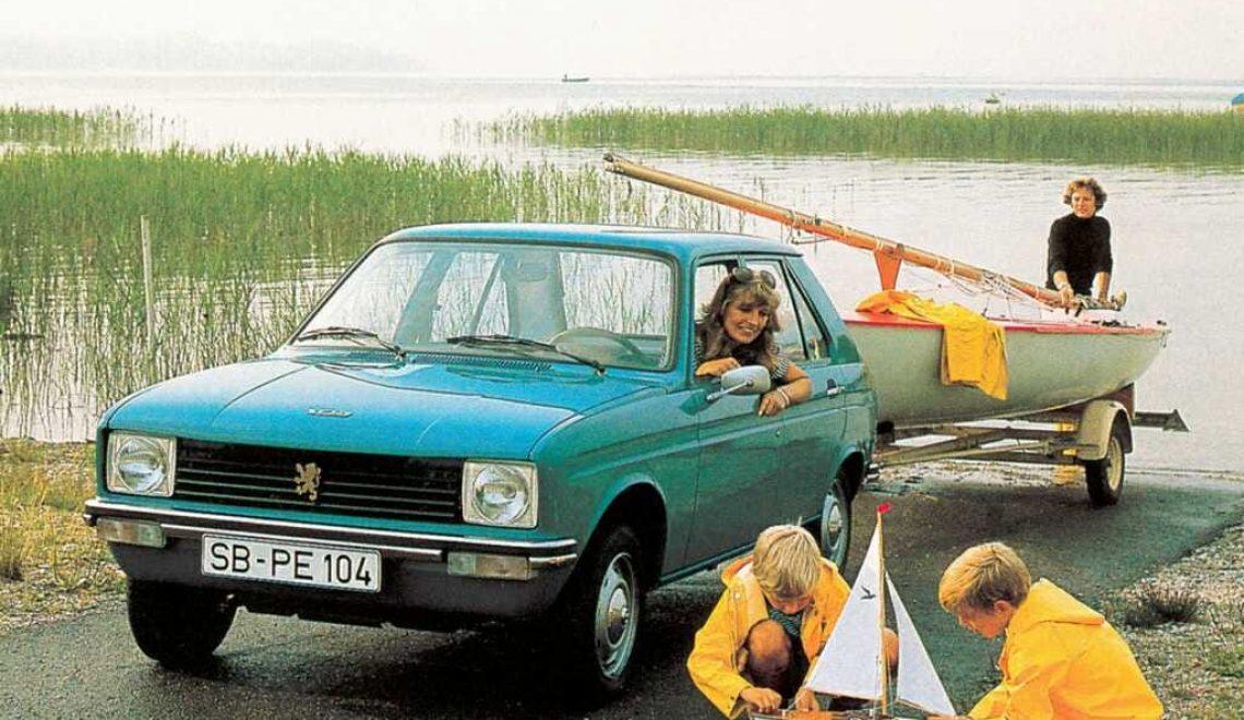 Peugeot 104 – miejski wojownik