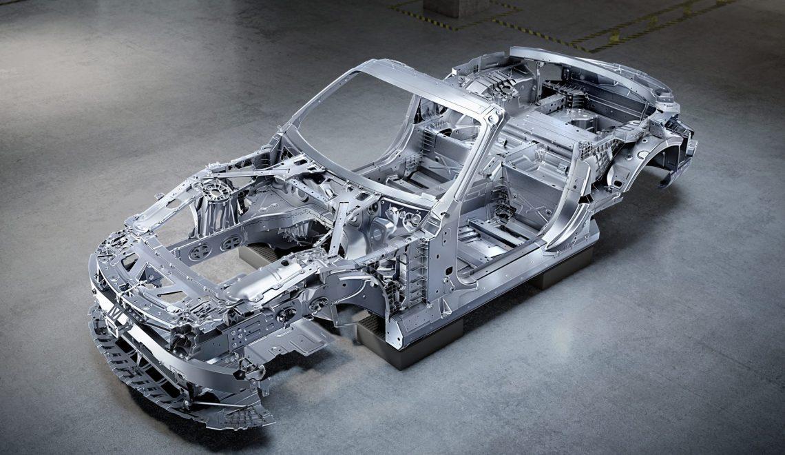 Mercedes-AMG SL z zupełnie nowym nadwoziem: kompozytowo-aluminiowa architektura roadstera zapewnia maksymalną sztywność