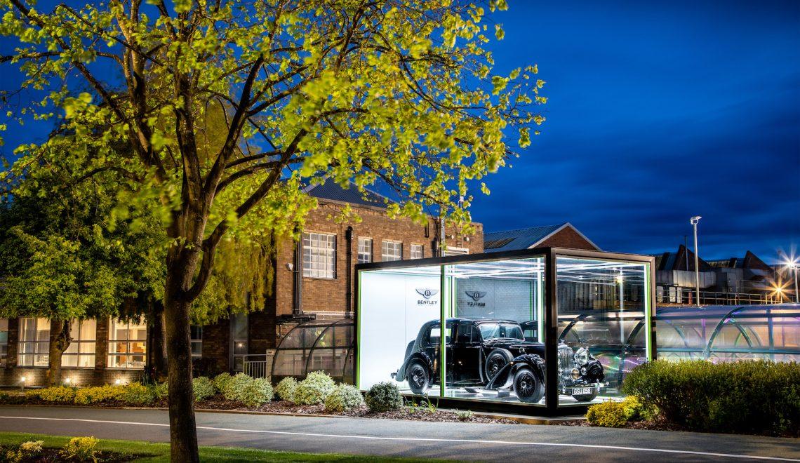 Bentley świętuje 75 lat produkcji samochodów w Crewe