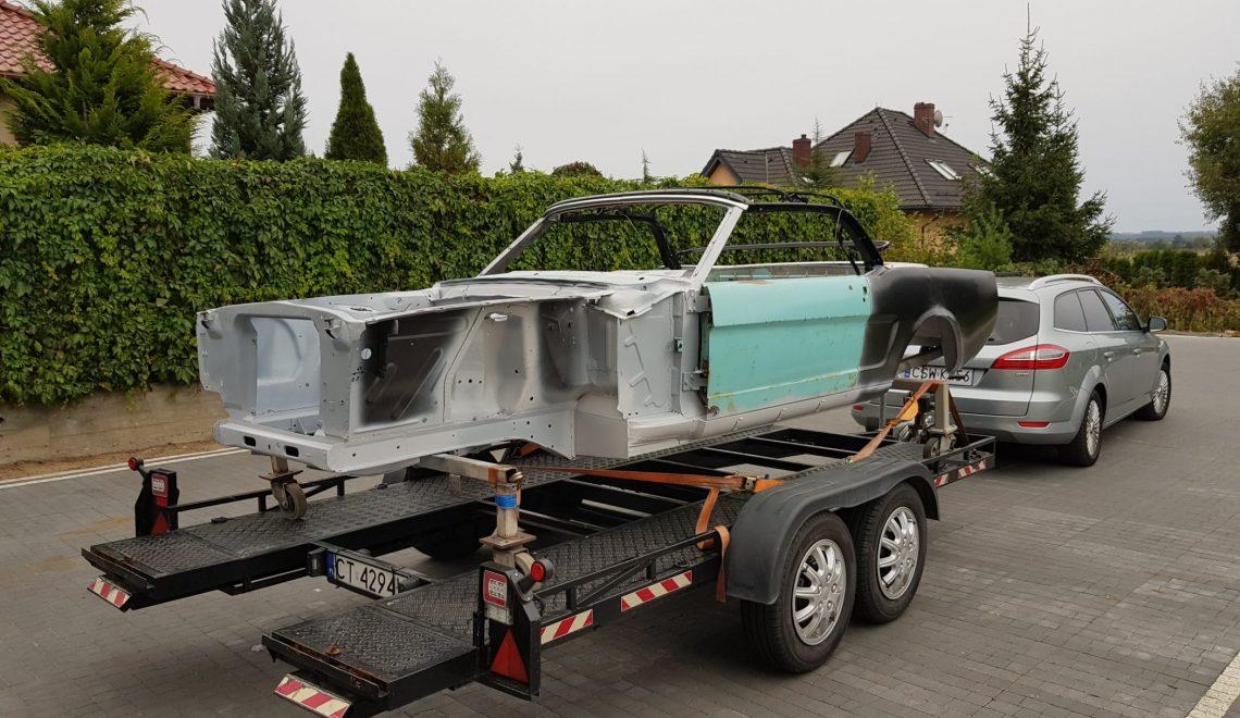 Po modyfikacji silnika: Ford Mustang z 1965 roku