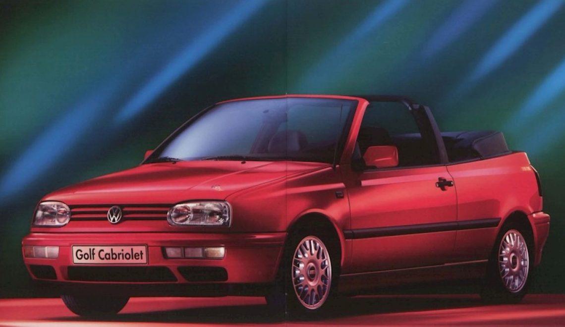 Volkswagen Golf III – sposób na tani kabriolet
