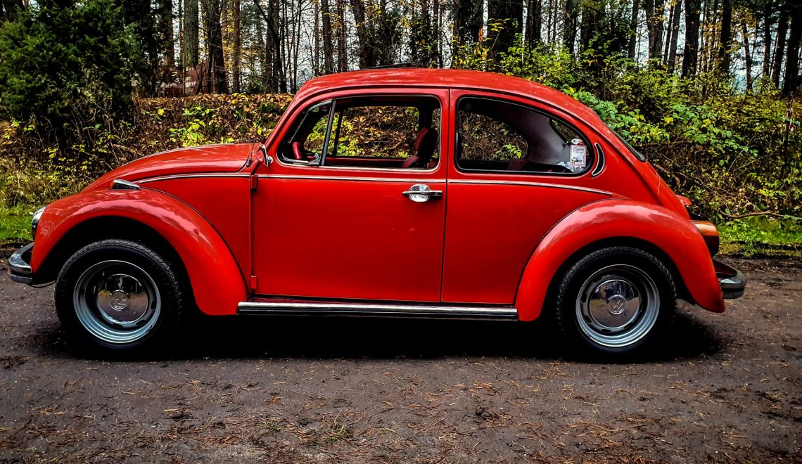 1500 zł za podsufitkę – Volkswagen Garbus 1200, 1958
