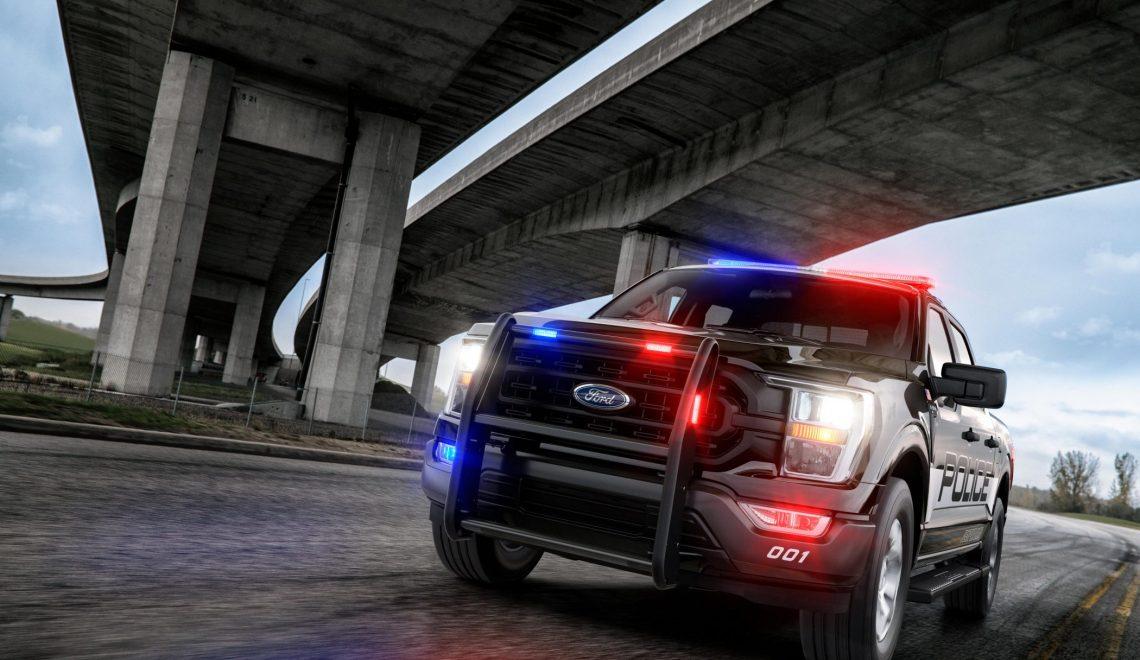 Pick-up z piorunującym przyspieszeniem. Nowy Ford F-150 specjalnie dla amerykańskich organów ścigania