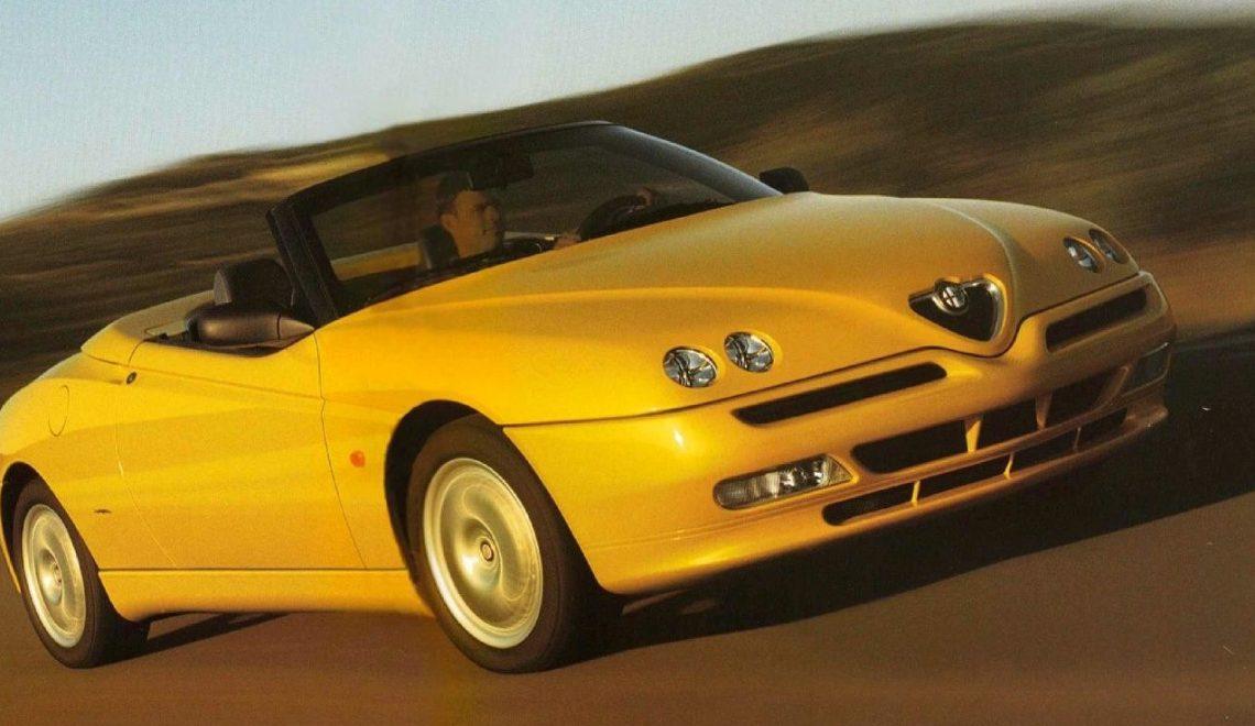 Alfa Romeo Spider II – stworzona z miłości do jazdy