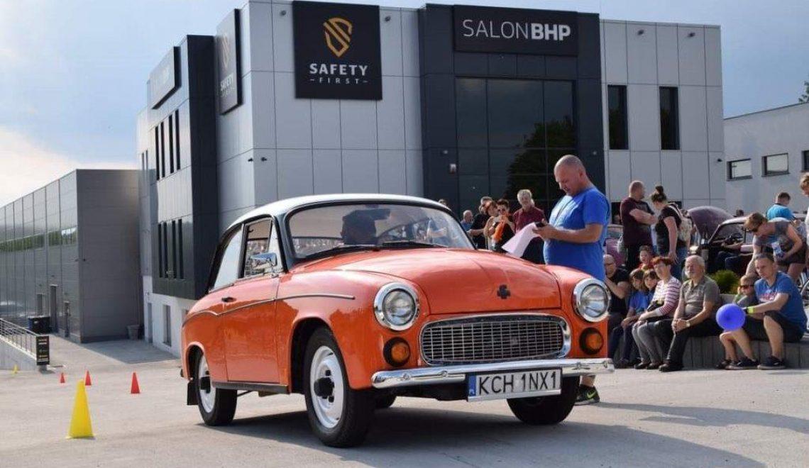 Wystawa Klasyków Safety First SALON BHP w Czechowicach-Dziedzicach 04.09.2021