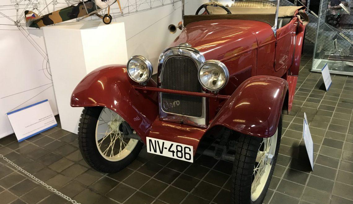 Małe, ale dorosłe – Aero 10 HP, 1930
