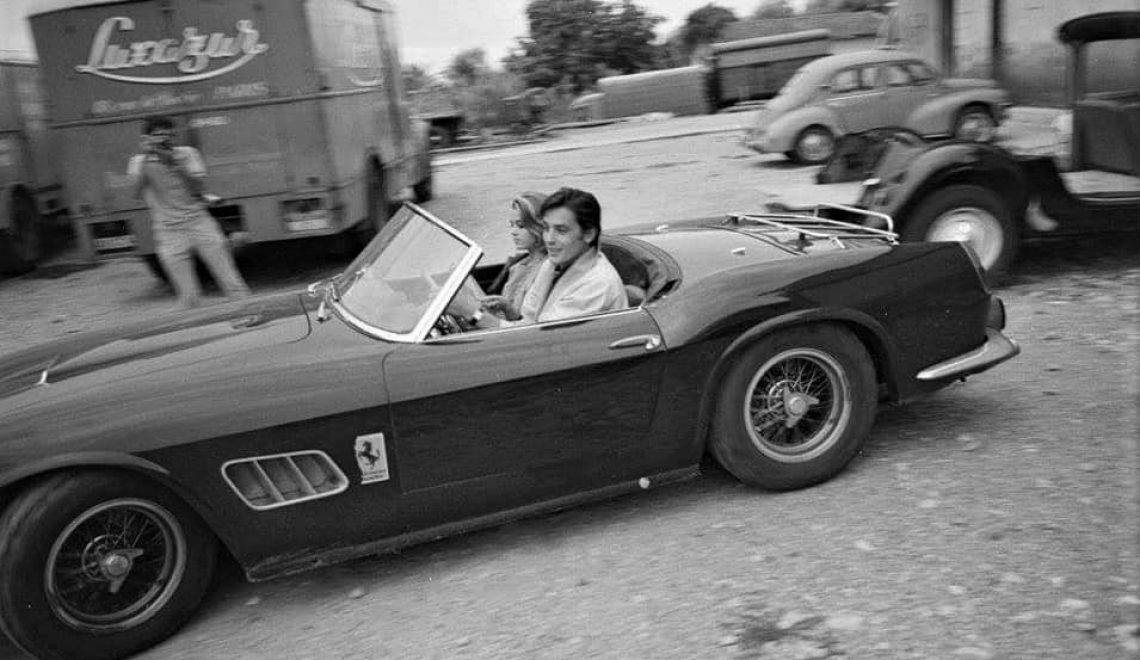 Najsłynniejsze Ferrari Alaina Delona