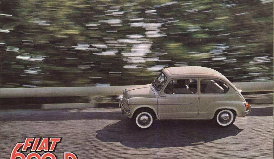 Fiat 600 Haliny Kunickiej i Lucjana Kydryńskiego
