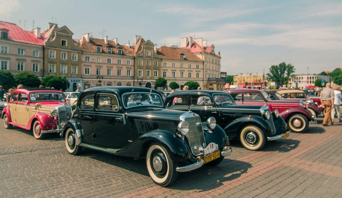 Święto klasycznych Mercedesów w Katowicach
