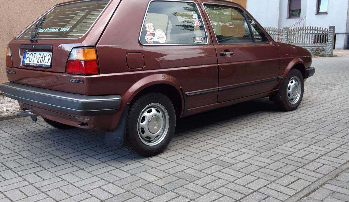 """Volkswagen Golf II – """"german style"""" nie na polskie drogi"""