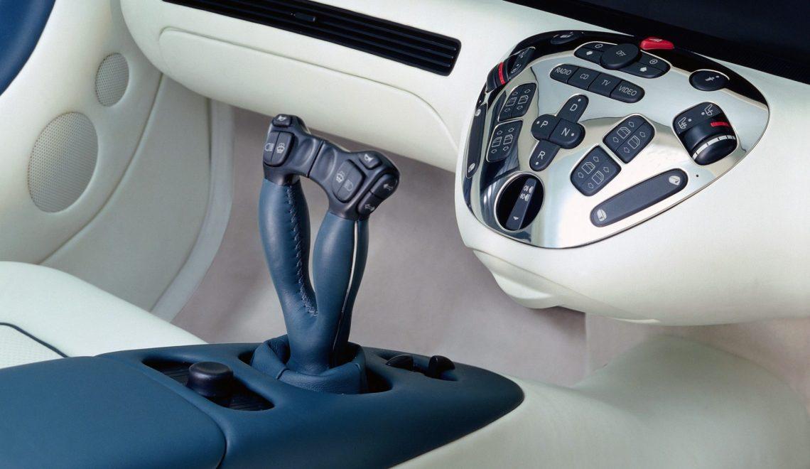 Przyszłość o jeden krok bliżej: Mercedes-Benz F 200 Imagination z 1996 r.